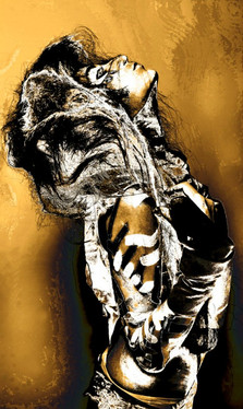 wolf animal creature body paint