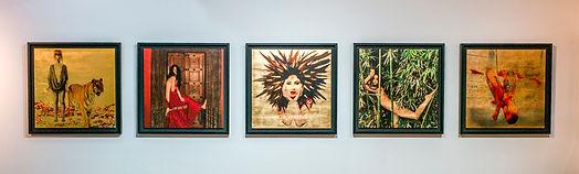 Women in Art Nature body feminine