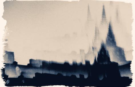 cityscape buildings perspective