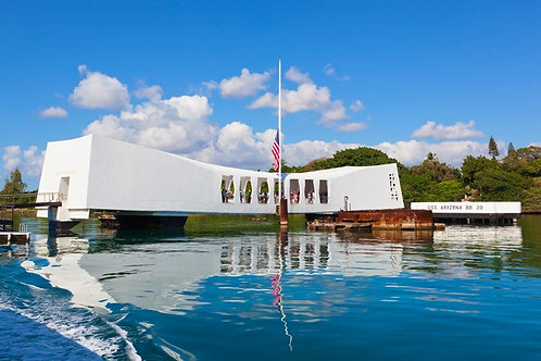 Pearl Harbor, Arizona Memorial & USS Missouri - One Day Fly Inter-Island Tour
