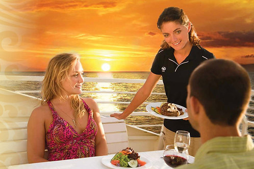 Premium Seating Sunset Dinner Cruise Ma'alaea Harbor