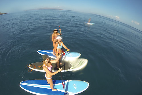 Stand Up Paddle Boarding Makena - Aloha Kayaks