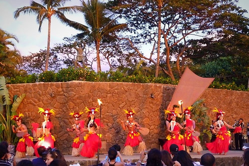 Grand Luau in Wailea with Fire Knife Dance - Agents