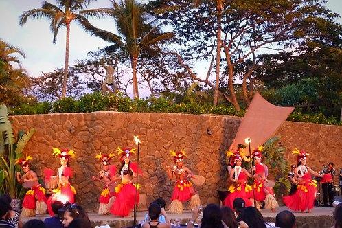 Grand Luau in Wailea with Fire Knife Dance