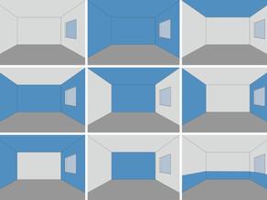 Como as cores alteram a percepção dos espaços interiores