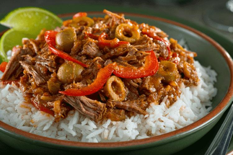 Ropa vieja, carne mechada, cocina cubana, cuban cuisine, cuban food