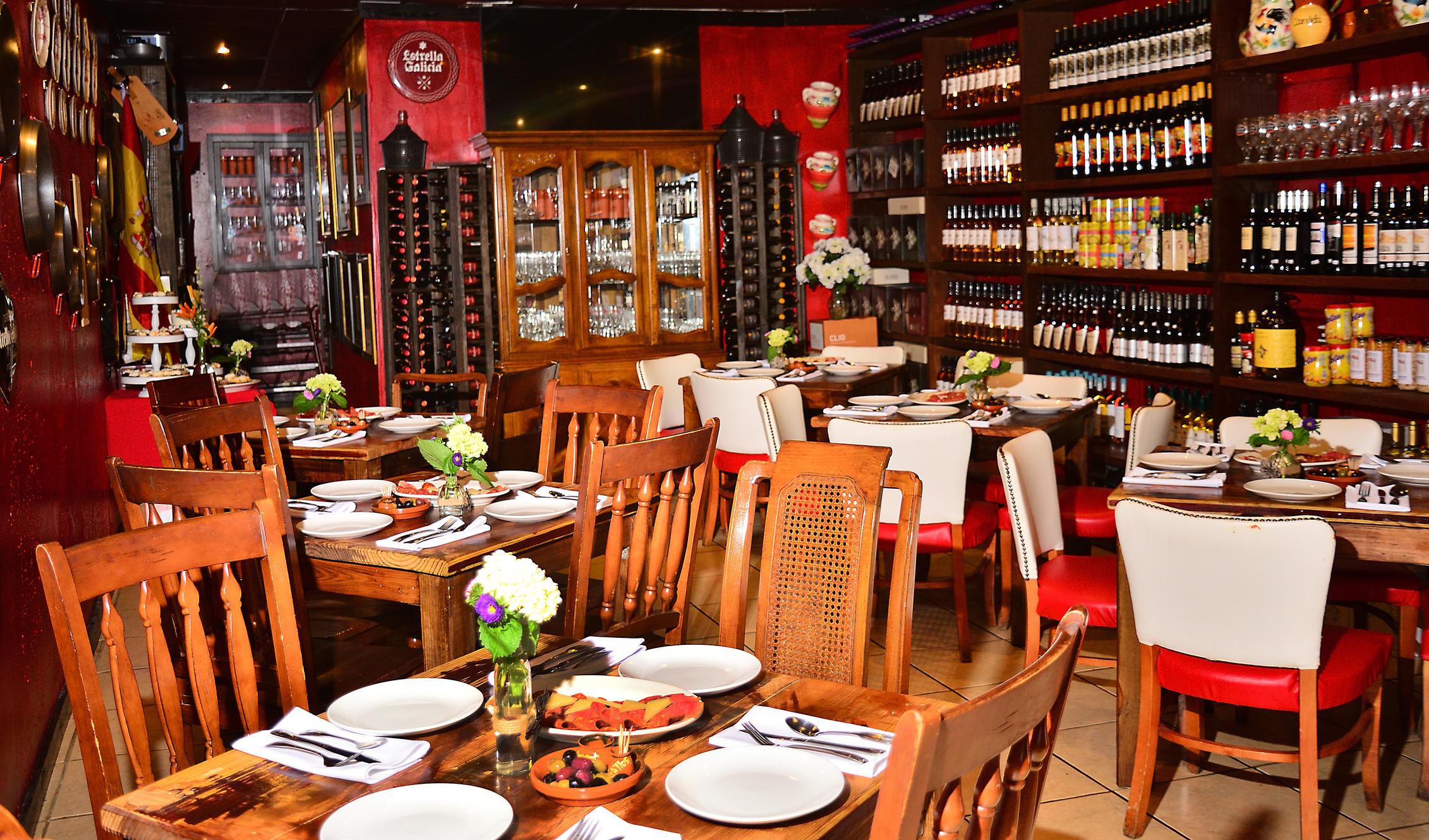 Candela Spanish Restaurant Wine Tapas Paella