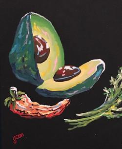 Avocado and Veggies