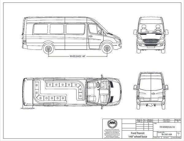 Transit Limo Floorplan