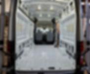 Empty Ford Transit