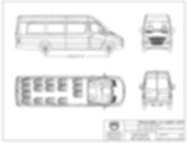 18 Passenger Ford Transit Shuttle