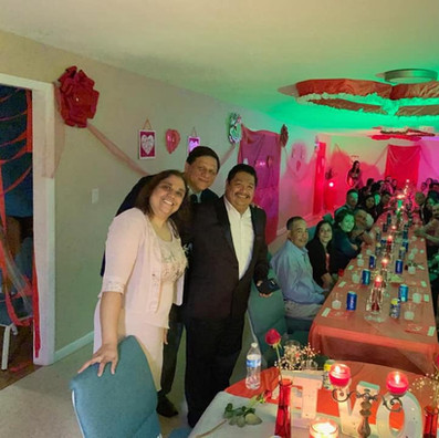 Cena para Matrimonios en Camino del Rey