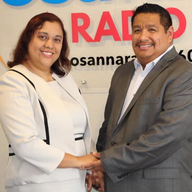 Pastores Karla y Saúl Cruz