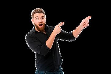 surprised-happy-bearded-man-shirt-pointi