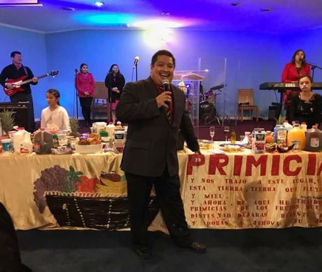 Celebracion de Primicias