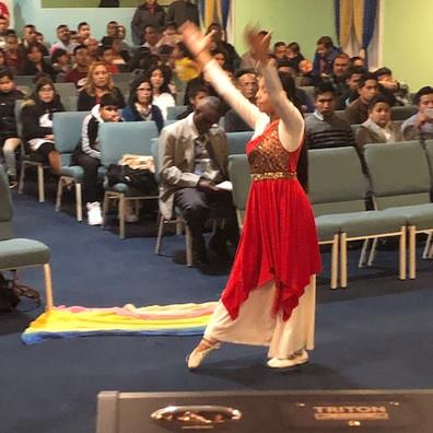Ministrando con Danza