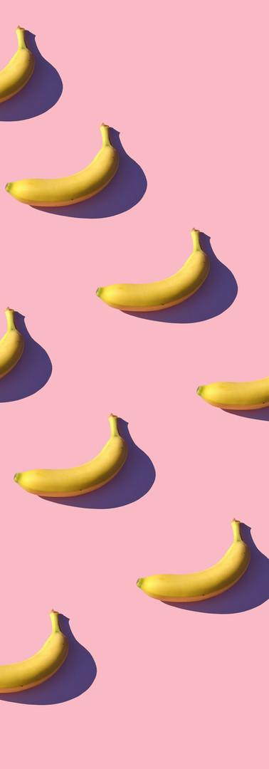 I love bananas.