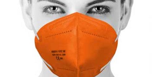 ffp2 Schutzmasken, zertifiziert, weiß oder farbig, 1 Set = 100 Stück für