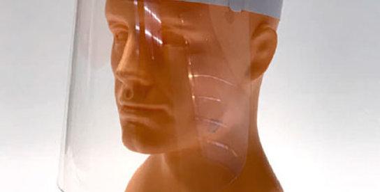 Gesichtsschutzschirme Standard, 1 Set = 50 Stück für
