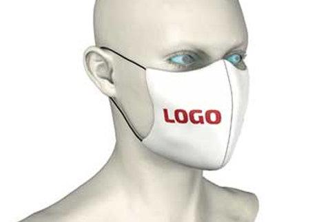 Individuell bedruckte Mundmasken, 1 Set = 50 Stück für