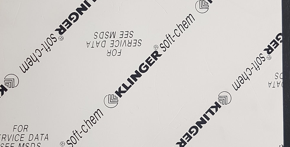 Soft-Chem Gasket Sheet Expanded PTFE 150 x 150 x 3mm Square