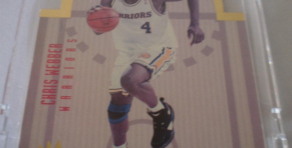 Chris Webber 1993-1994 Upper Deck SE Die Cut All-Star West