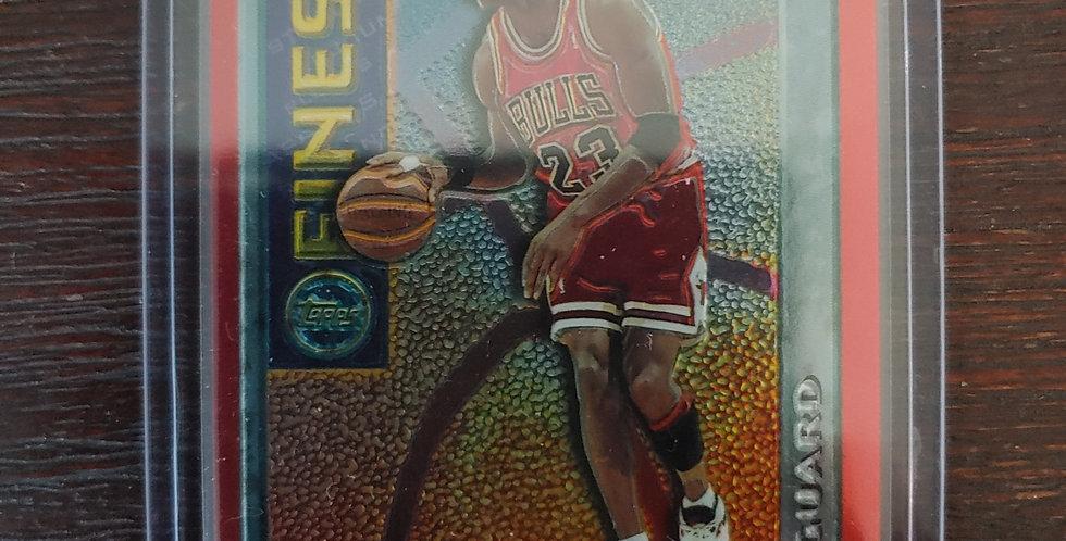 1996 Topps Michael Jordan Orange Mystery Finest M1