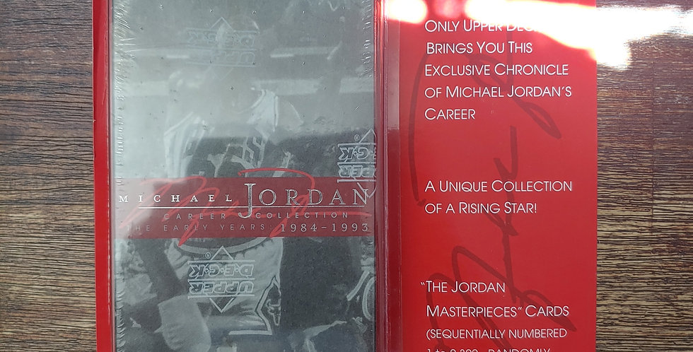 1998 Upper Deck Michael Jordan Career Collection Box Set