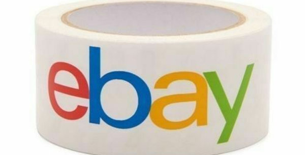 "4 Rolls - EBAY PACKING TAPE 68 METRES x 5CM (2"" x 75 yards)"