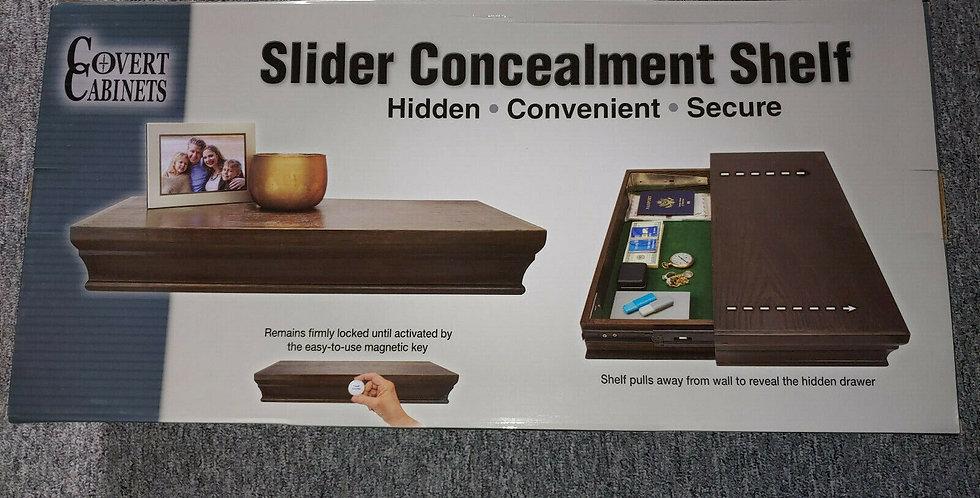 Covert Cabinets Secret Storage Floating Tactical Sliding Magnetic Safe Shelf
