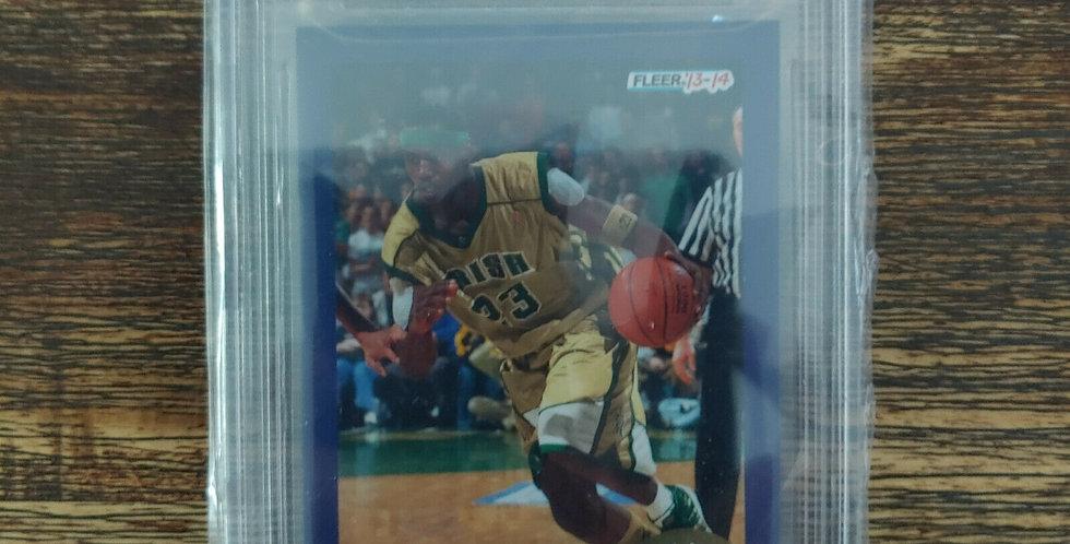 2013-14 Fleer Retro '92-93 Lebron James Team Leader BGS 9 Mint Condition