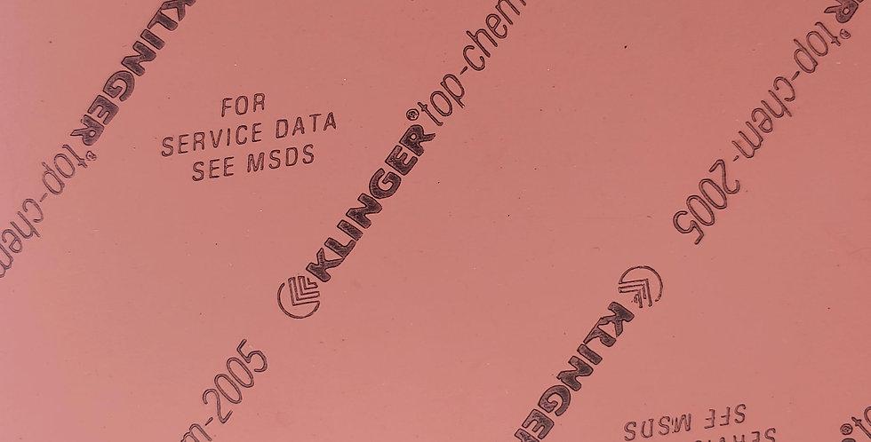 Klinger TopChem-2005 Gasket Sheet 3mm x 150mm x 150mm square