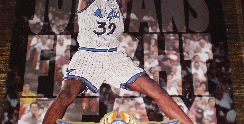 JUMBO OVERSIZE Shaq Upper Deck 1993-1994 Michael Jordan Flight Team Card