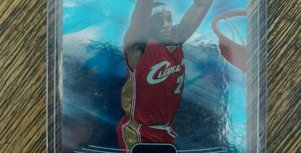 2004-05 Upper Deck Flight Team Lebron James FT45