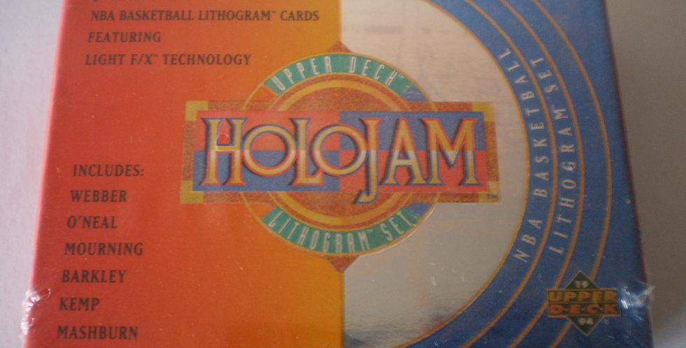 1993/94 NBA Upper Deck Holojam Lithogram 36-Card Boxed Set Factory Sealed