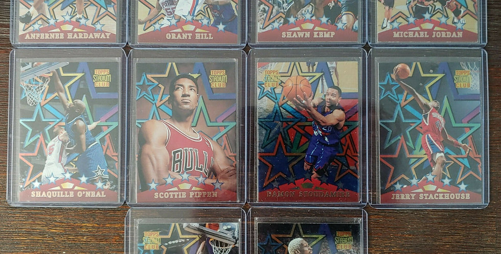RARE 1996-97 Topps Stadium Club 'Special Forces' Set Michael Jordan Pippen Shaq