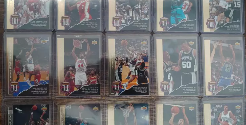 "1993-94 Upper Deck SE ""Locker Talk"" 15 Card Set"