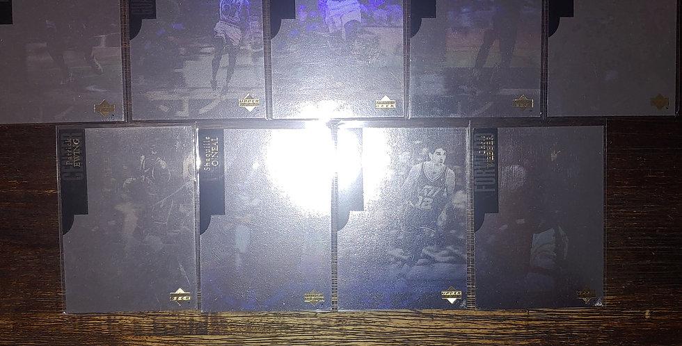 1995 Upper Deck SE Basketball Hologram 9 Card Complete Set