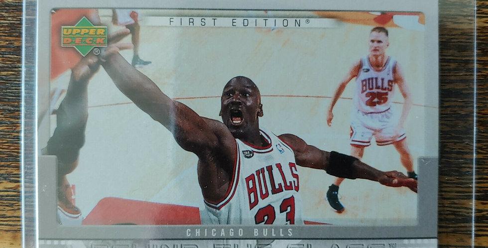2007-08 Upper Deck Michael Jordan Behind The Glass BG-MJ