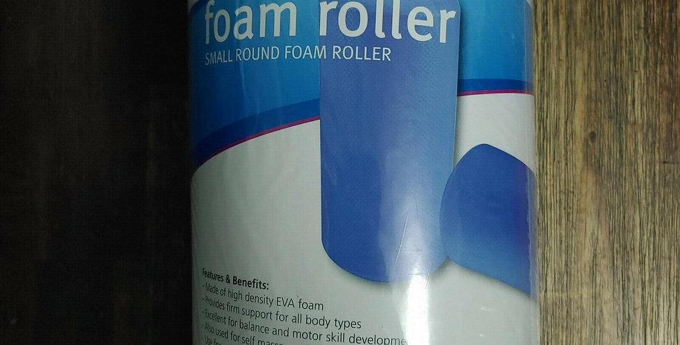 Allcare Blue 30cm Round Foam Roller - Yoga Fitness Equipment