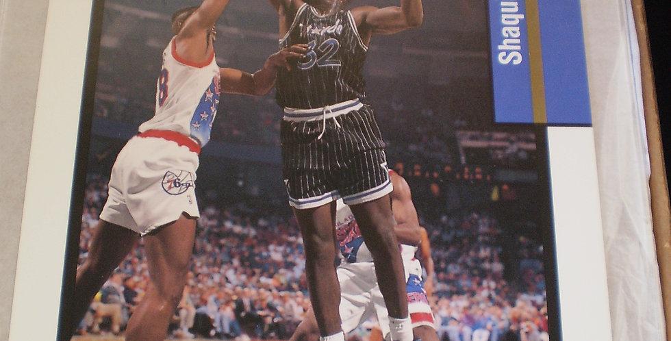 Rare Shaquille O'Neal Upper Deck 1993-1994 Team MVP Jumbo Oversize Card