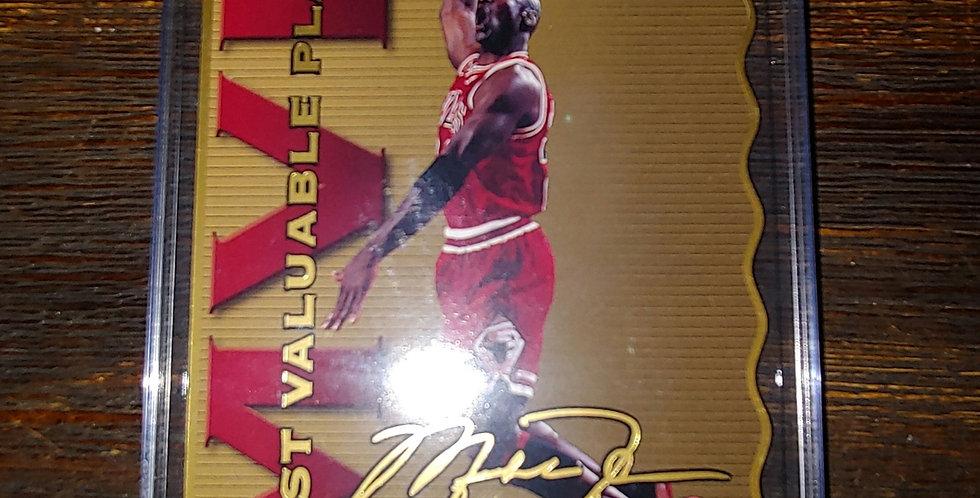 1996 Upper Deck Limited Edition Michael Jordan Jumbo Die Cut MVP 2141/2500
