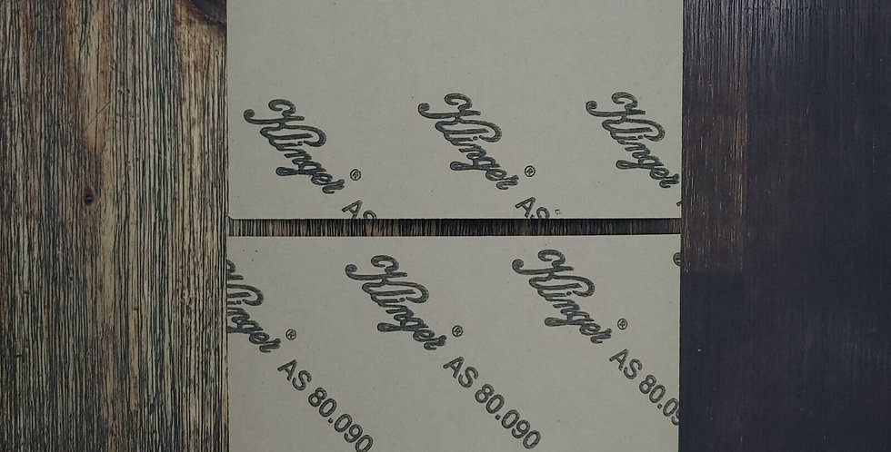 2 x 0.8mm Gasket Paper Sheets (160mm x 160mm) Oil Water Steam