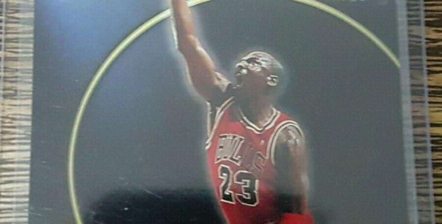 1996-97 Michael Jordan Members Only 55 Stadium Club Card #41
