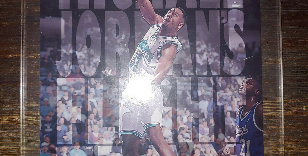 "Rare: 1993-94 Upper Deck ""Flight Team"" Jumbo UDA Alonzo Mourning FT15"