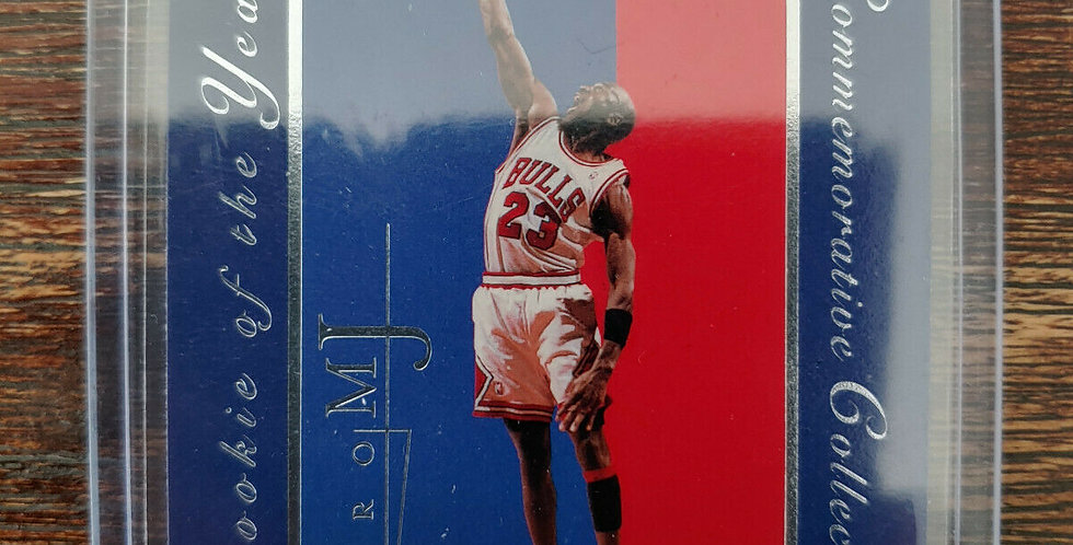 Michael Jordan Rookie of the Year Commemorative Collection '98 Upper Deck Retro