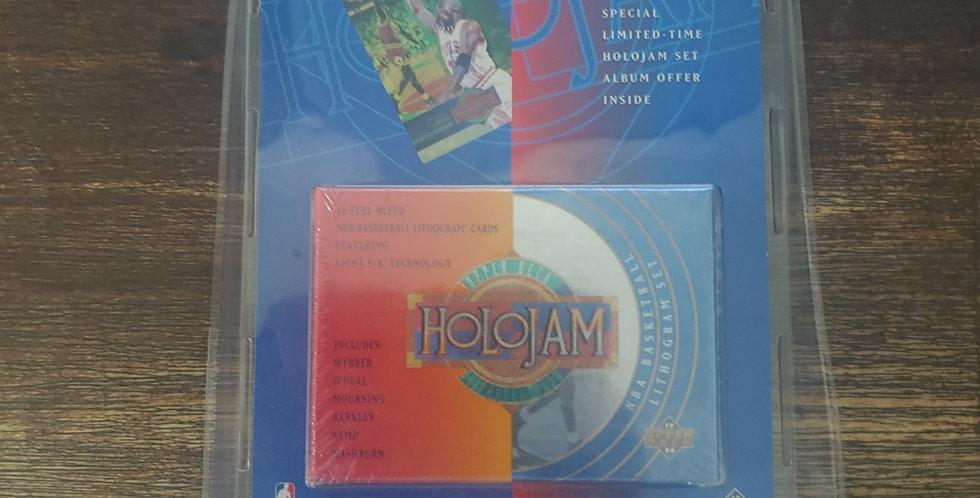 1993-94 NBA Upper Deck Holojam Lithogram 36-Card Boxed Set Factory Sealed