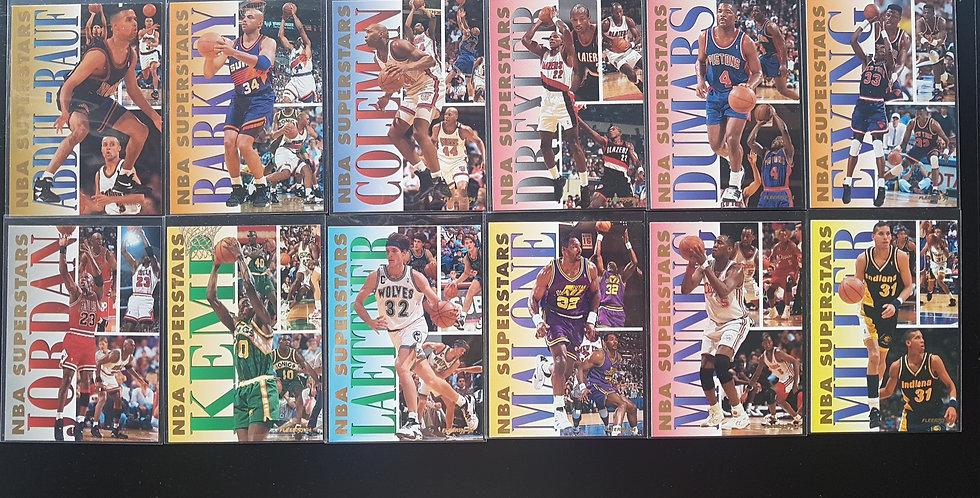 1993-94 Fleer NBA Superstars 20 Card Full Set