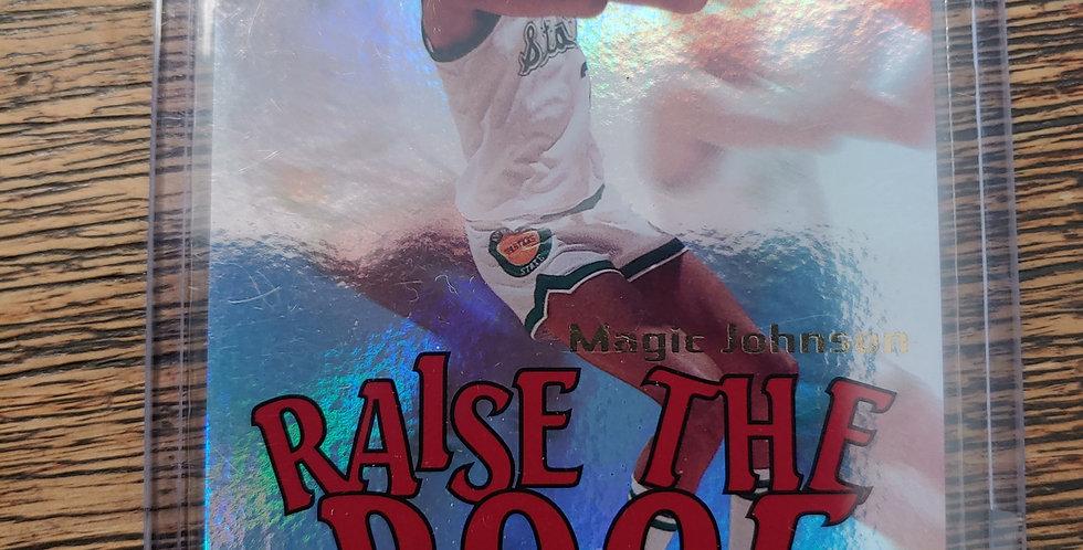 2012-13 Fleer Retro Mystique Magic Johnson Raise The Roof 088/100
