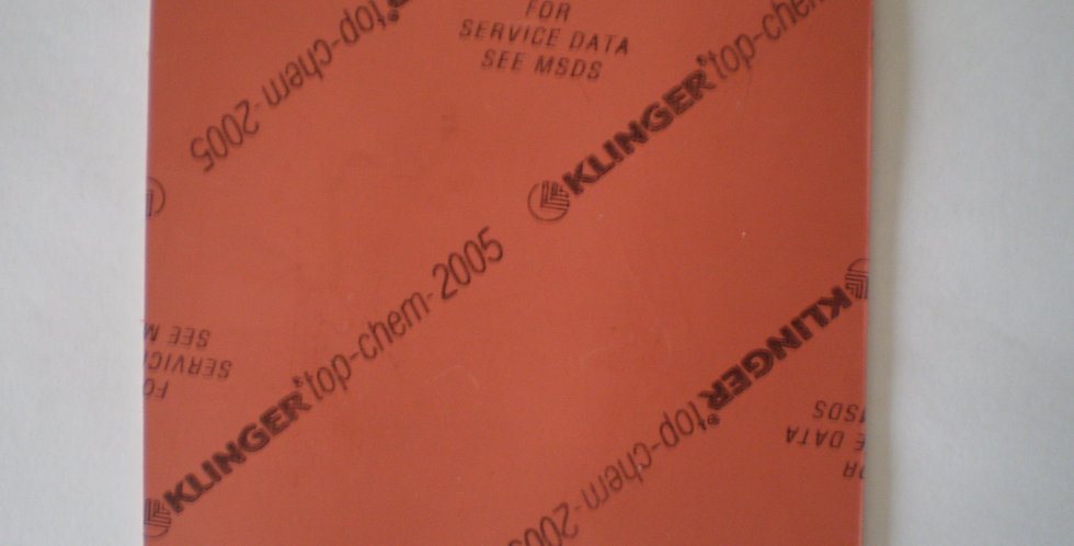 Klinger TopChem-2005 Gasket Sheet 1mm x 100mm x 100mm square